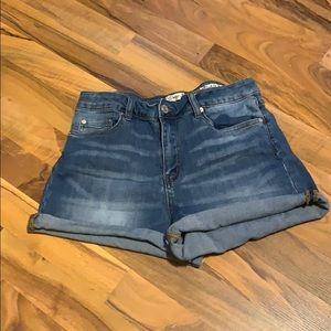 Jean shorts size 13